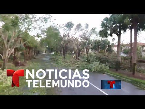 EN VIVO: Noticias Telemundo tras el paso de Irma por Florida | Noticiero | Noticias Telemundo