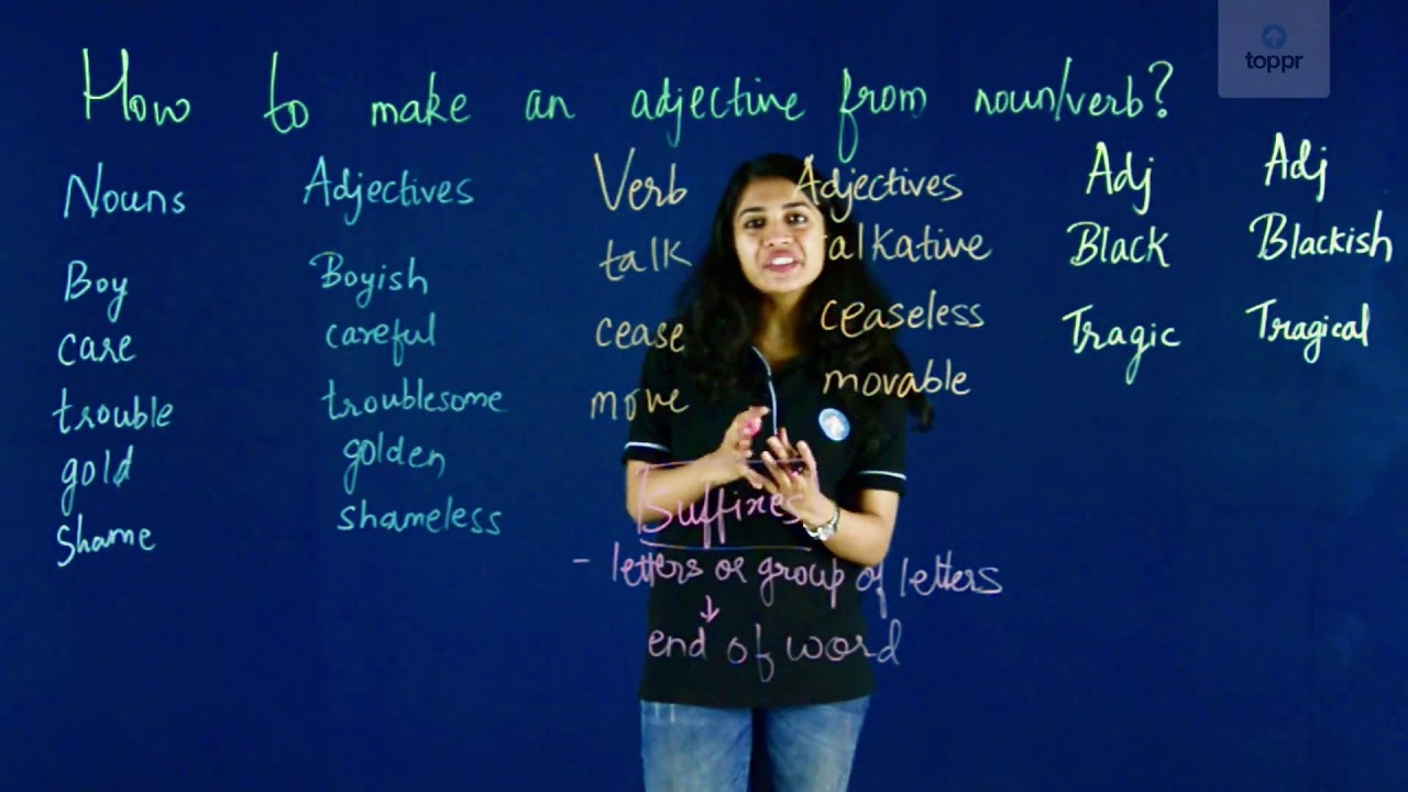Formation of Adjectives: Simple Rules that You Cannot Do Without