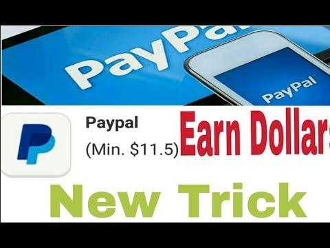 Dollars earn करने का सही app !! Earn 11$ dollars and transfer to paypal ||