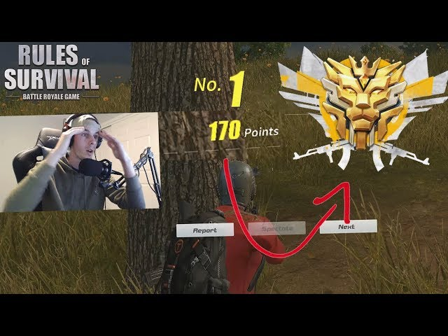 *NEW* Double Rank Points Event! (Rules of Survival)