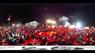 15 Temmuz Demokrasi Nöbeti - 15 July Democrasy Vigil  at ISTANBUL - KISIKLI / TAKSIM / FATIH