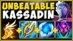 STOP LOSING GAMES! NEW TANK KASSADIN BUILD IS 100% BROKEN! KASSADIN TOP GAMEPLAY! League of Legends