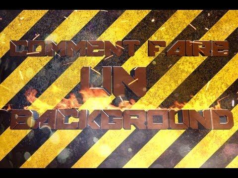 [Infinity Design]►comment faire un background youtube 2012 ◄ + GFX PACK