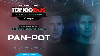 PAN-POT live for the Alternative #Top100DJs virtual festival powered by @beatport