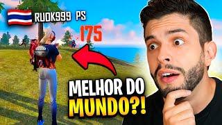 MELHOR DO MUNDO?! REAGI AO GRINGO REVELAÇÃO DO FREE FIRE!!