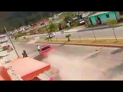 Joven muere atropellado en Chiapas durante 'arrancones'