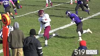 WCSSAA Football - Huron Heights vs Bluevale