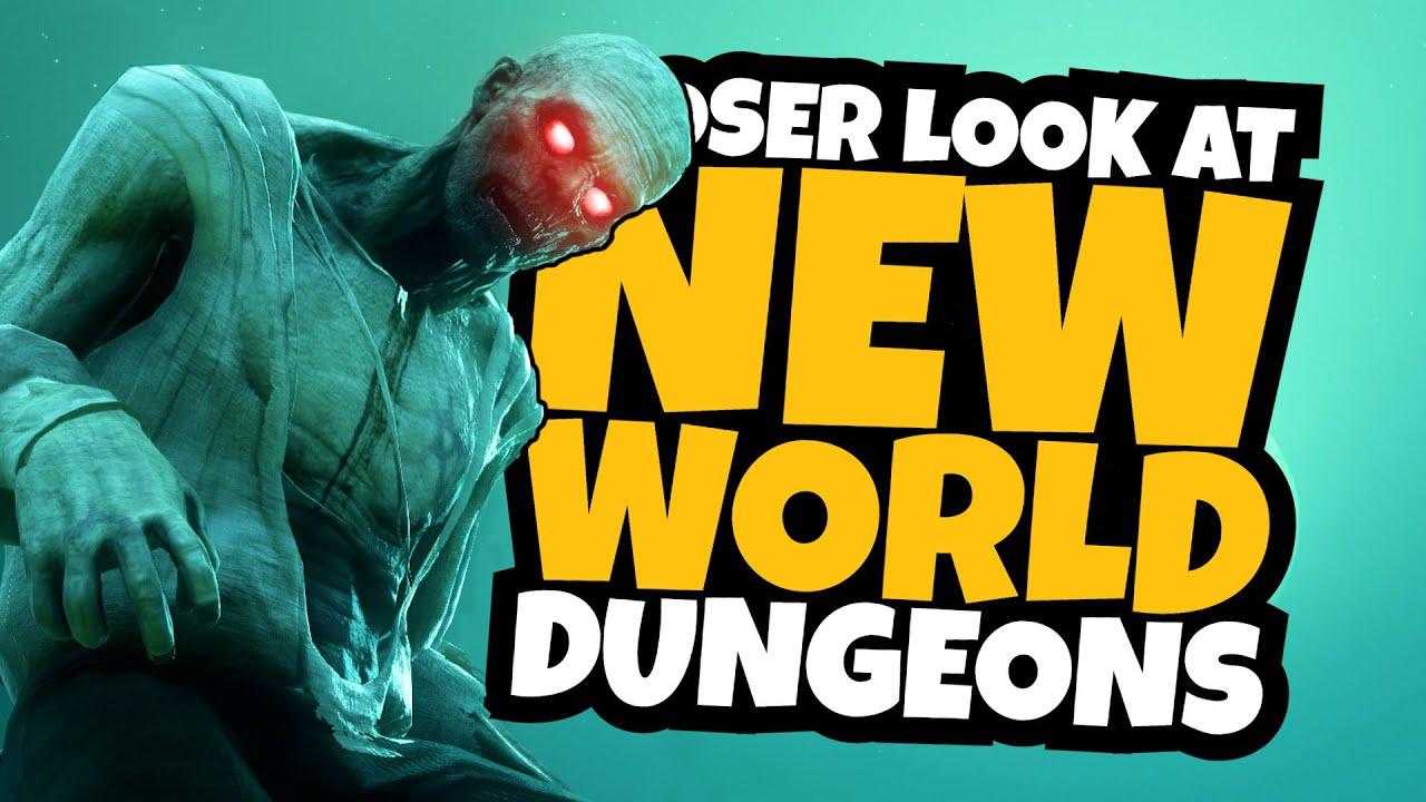 New World: First Dungeon Gameplay Walkthrough