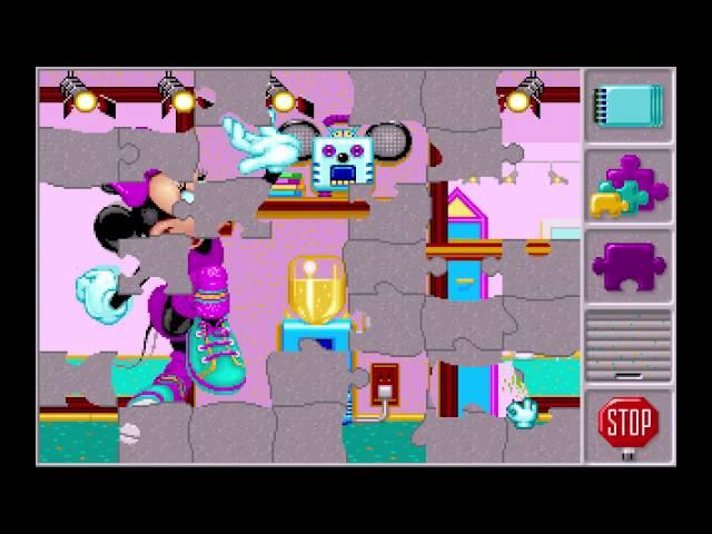 Mickeys Jigsaw Puzzles (1991) [MS-DOS]