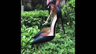 여자 발목 스트랩 섹시한 하이힐(구매정보는 고정댓글에)…