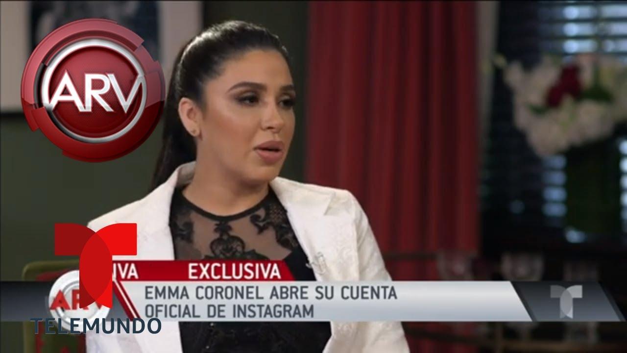 Emma Coronel abre su cuenta oficial de Instagram | Al Rojo Vivo