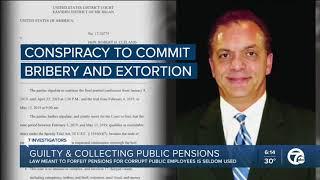 Sen. Runestad joins 7 Action News Detroit to discuss criminals collecting public pensions