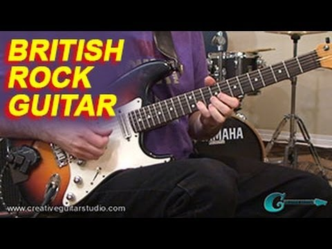 GUITAR STYLES: British Rock Guitar