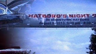 Hatboro Moonlight Memories Car Show 2013 Highlights
