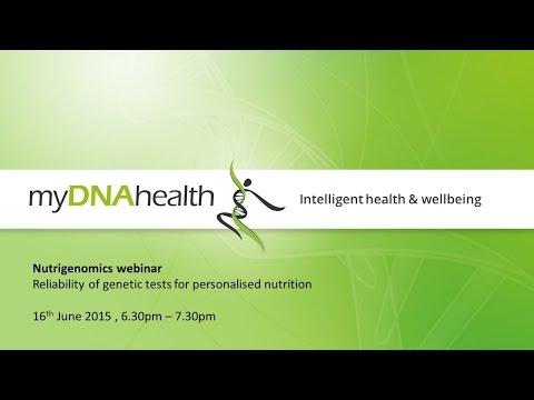 Nutrigenomics webinar - Reliability of genetic tests for personalised nutrition
