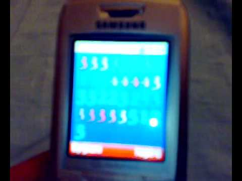 Jingle Bells on Samsung SGH-E250