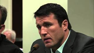 NSAC Hearing: Chael Sonnen Suspension