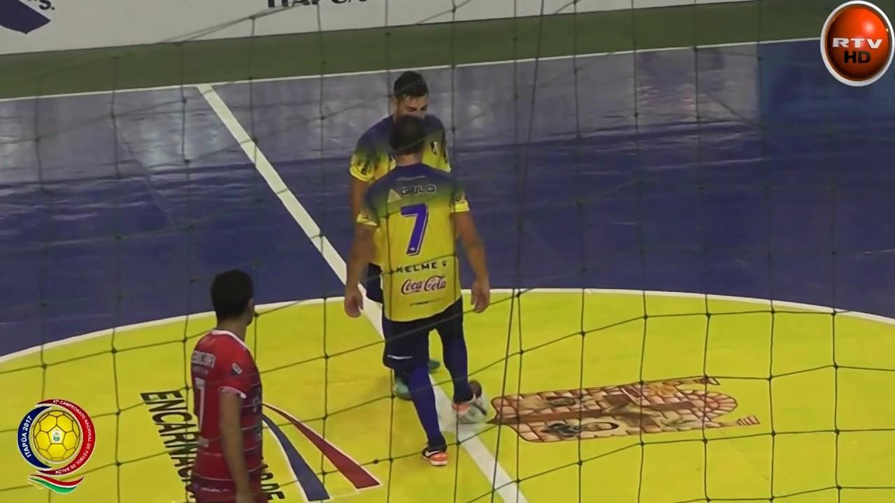 Futsal encarnacion vs tebicuary rtv parana 28 02 17 youtube for V encarnacion salon