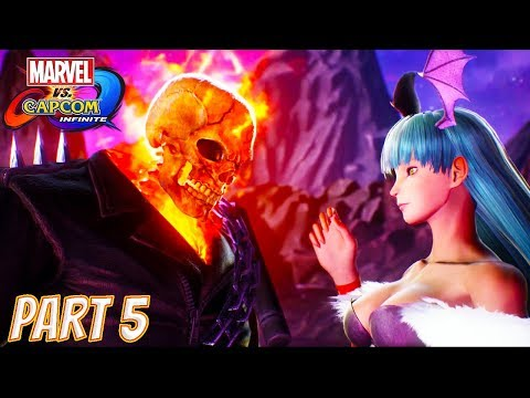 Marvel vs Capcom Infinite Story Part 5: Dark Kingdom Soul Stone (Ghost Rider, Morrigan, Dr Strange)