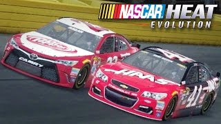NASCAR Heat Evolution - Racing Online with Zach
