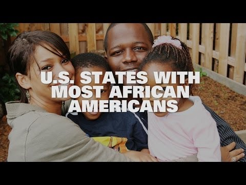 Top Ten US States With The Most African Americans 2014