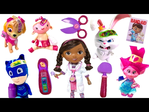 Thumbnail: Best Learning Colors Video for Children - Doc McStuffins Helps Paw Patrol Trolls