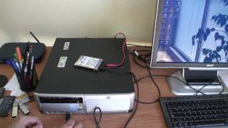 Power a SATA 2,5'' hard disk drive with USB