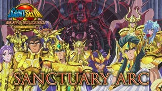 Saint Seiya Brave Soldiers - PS3 - Sanctuary Arc (Trailer)