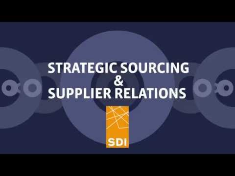 MRO Procurement: SDI's Strategic Sourcing & Supplier Relations