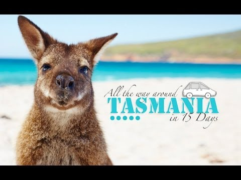 15 DAYS ROAD TRIP TASMANIA - BEST JOB IN THE WORLD TOUR 2014