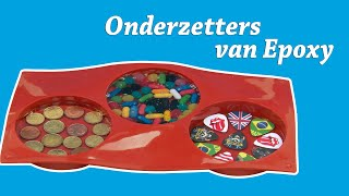 Unieke onderzetters (coasters) maken met Resion Epoxy giethars