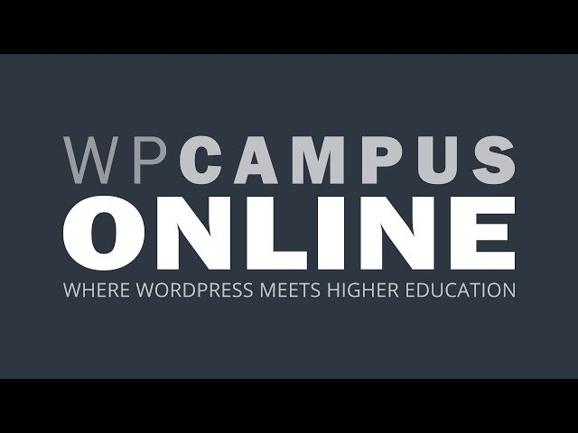 YouTube thumbnail for WordPress and Real-World Data with Students video