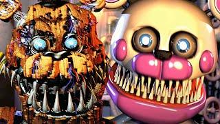 ¡¡Los nuevos animatrónicos NIGHTMARE me dan PESADILLAS!!  FNAF Post Shift Custom Night