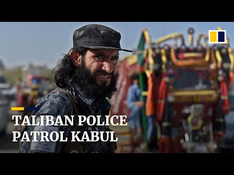 From extreme violence to keeping law and order, Taliban police patrol Afghan capital Kabul