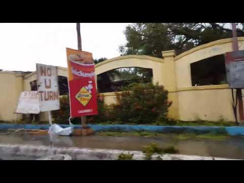 Pinsala ng bagyong Nina sa Calapan Oriental Mindoro December 2016. Typhoon Nock-ten