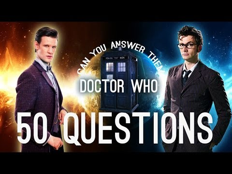 AWESOME 50+ DOCTOR WHO QUIZ