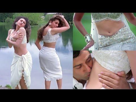 Karishma kapoor navel kiss & hot assets thumbnail