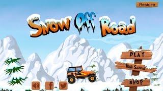 Snow Off Road - iPhone/iPad GamePlay [Kids Game]