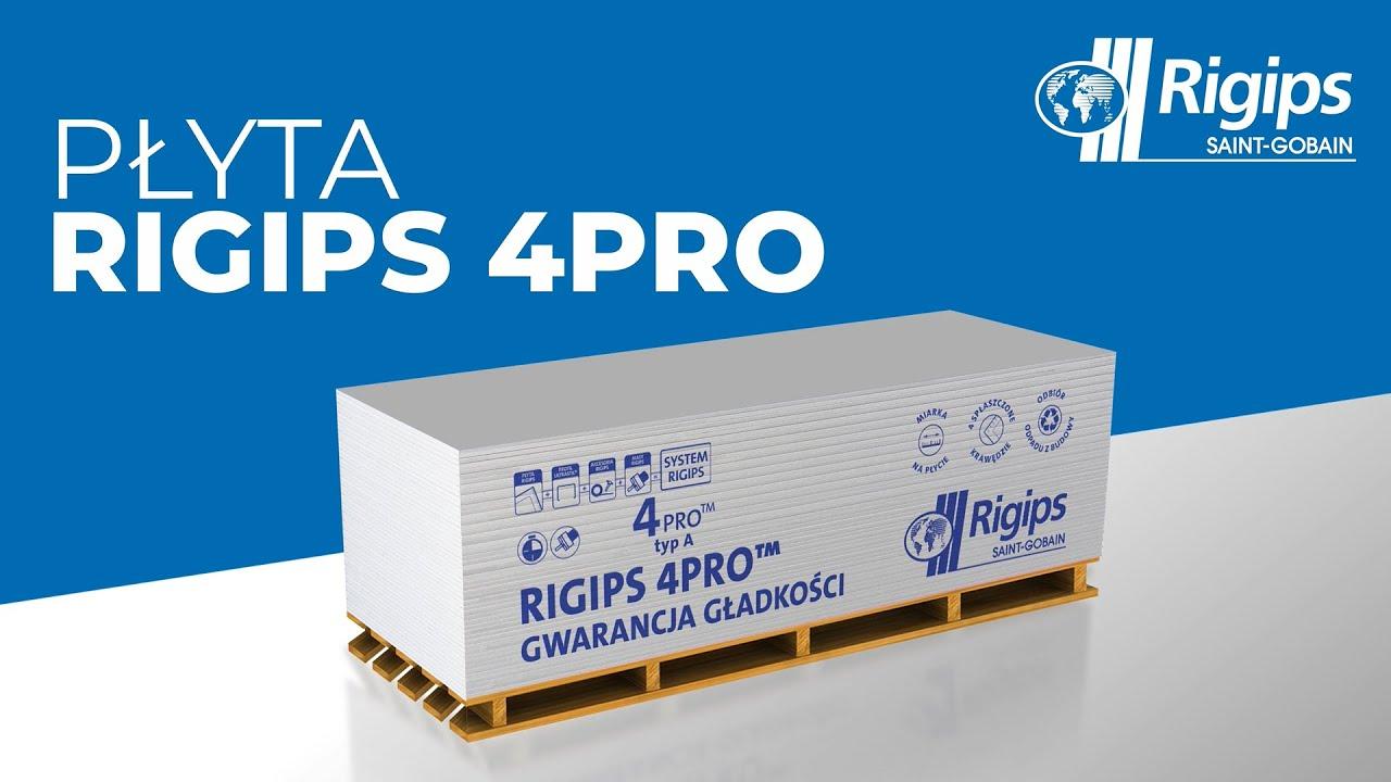 Rigips rekomenduje: Płytę Rigips 4PRO