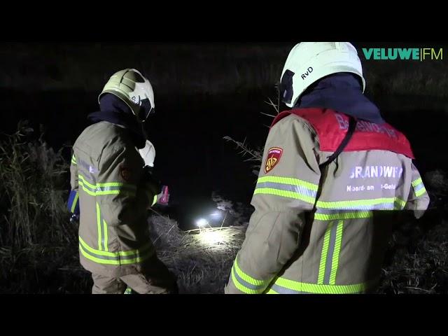VeluweFM: Grote oefening tussen brandweer politie en ambulance Putten