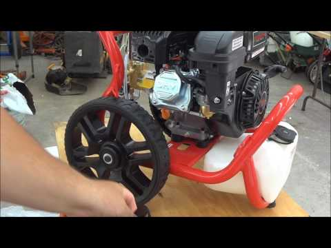 Predator 3100 PSI 2.8 GPM 6.5 HP Pressure Washer Harbor Freight Pt. 2