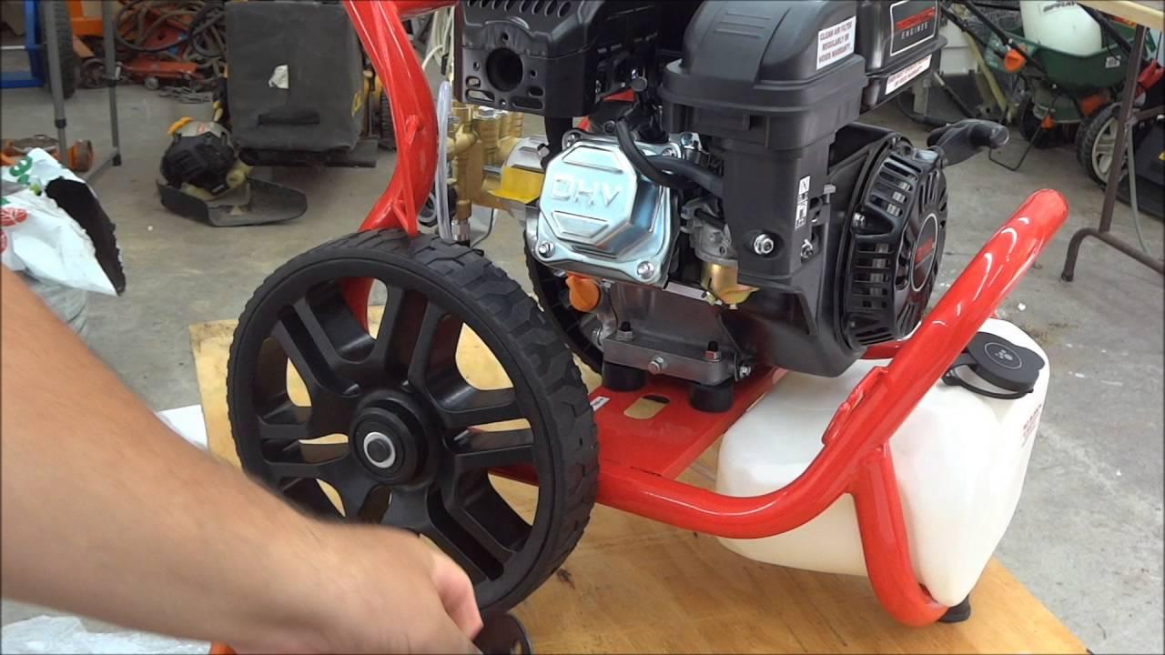 3100 Psi 2 8 Gpm 6 5 Hp Pressure Washer