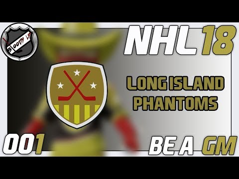 NHL 18 BE A GM [Deutsch/German] #001 - Das 32. Team der NHL ★ Let's Play NHL