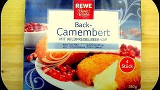 Rewe Beste Wahl Back Camembert getestet von WieEsWohlSchmeckt Deutsch