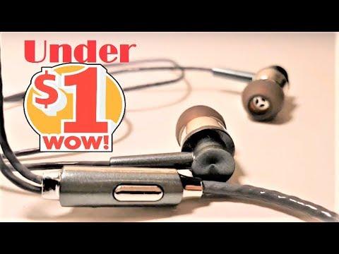 $1 Budget Earphones   -  KSD A23 Gearbest Review