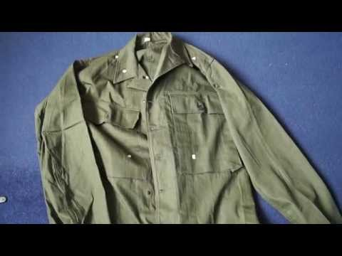 World War Two US HBT Fatigue Jacket