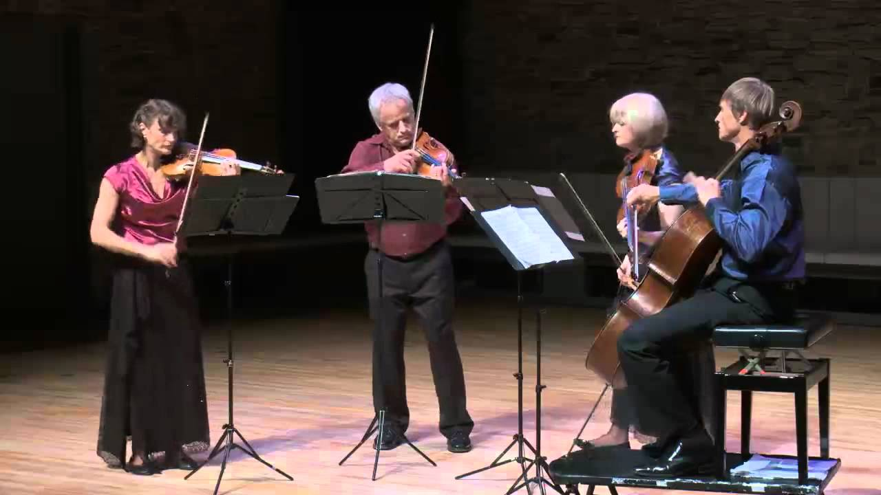 NZSQ Shostakovich String Quartet no 9 in Eb, Opus 117, Allegretto