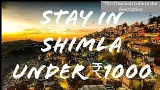 Shimla Hotel's Under Rs1000
