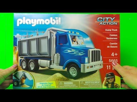 🚚 Playmobil M&M Lastwagen Dump Truck 5665 auspacken unboxing