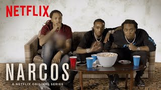 Narcos: Mexico | World Premiere of Narcos with the Migos | Netflix